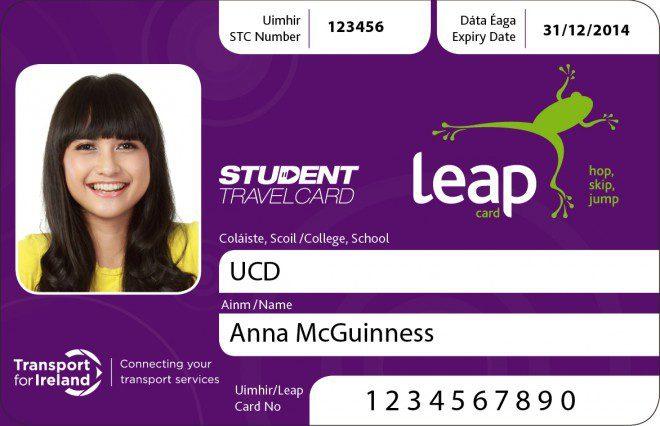 Leap Card Student, outra opção para economizar. Foto: Divulgação Leap Card.