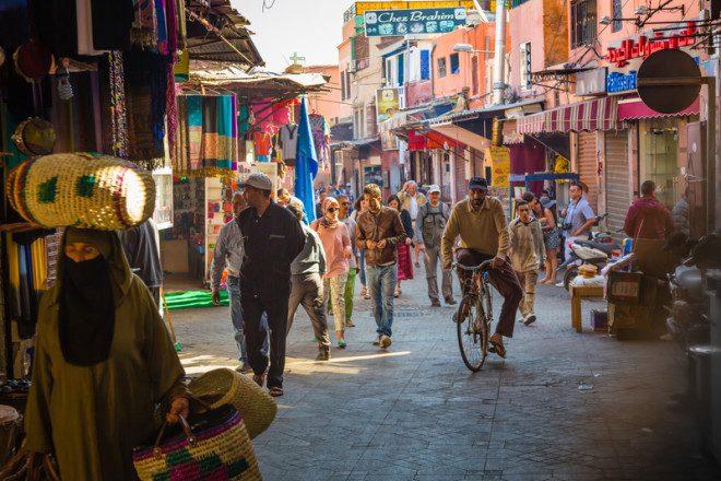 Marraquexe é um dos destinos mais populares no Marrocos. © Dagobert1620 | Dreamstime.com