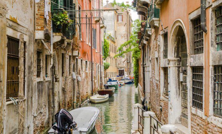 Veneza, um dos destinos mais românticos da Europa