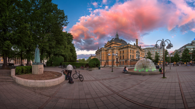 National Theater in Oslo. © Andrey Omelyanchuk | Dreamstime.com