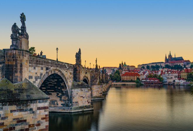 Praga uma das cidades mais lindas do Leste Europeu. © Bo Li | Dreamstime.com