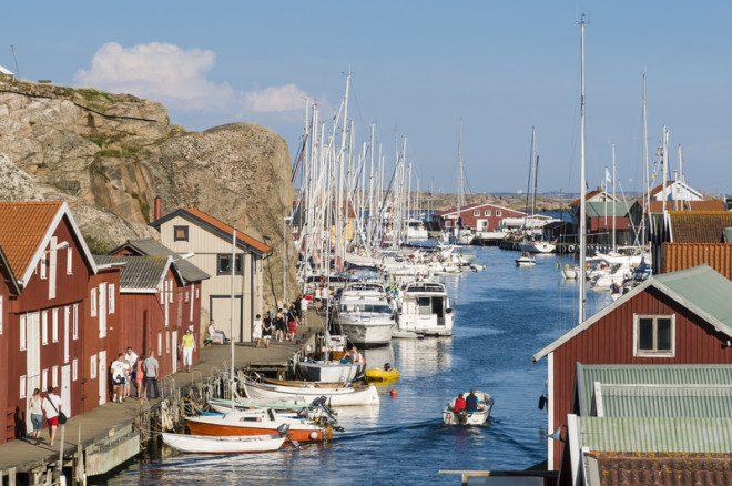 Será que dá para viajar pela Suécia como mochileiro? © Per Bjorkdahl | Dreamstime.com