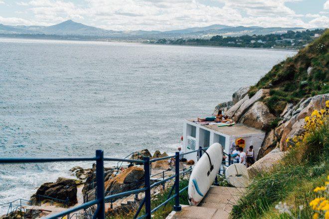 Ponto de mergulho em Dalkey © Juraj Pagac | Dreamstime.com