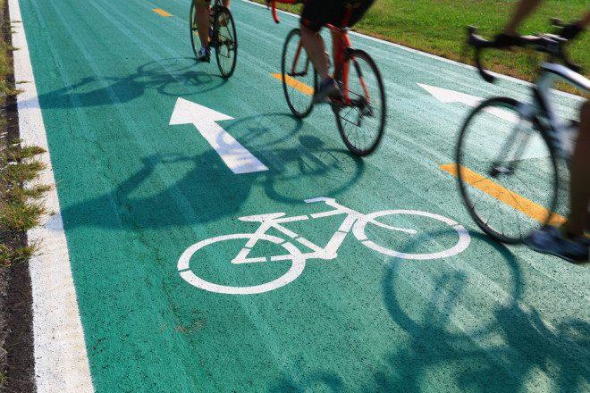 Infelizmente, acidentes envolvendo ciclistas são frequentes na capital irlandesa. Crédito: Shutterstock