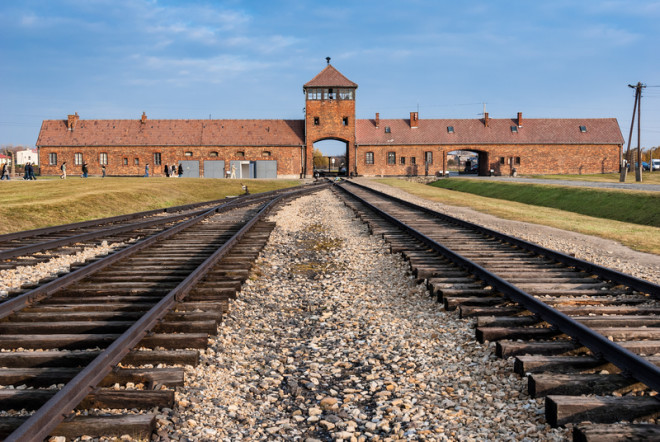 Antigo campo de extermínio nazista e agora um museu.© Dinosmichail | Dreamstime.com