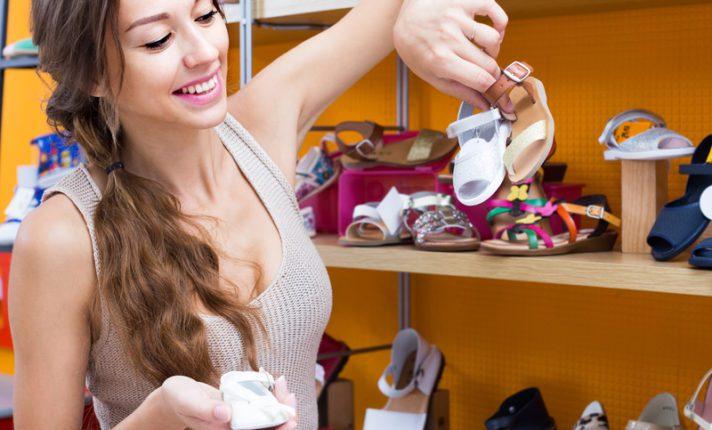 Na Irlanda, roupas e calçados infantis são isentos de impostos