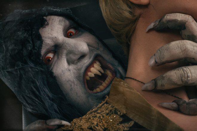O tremido Drácula é inspiração por muitos autores e é Irlandês.© Guruxox | Dreamstime.com