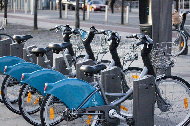 Diversos pontos da Dublin Bikes não funcionarão no fim de semana. Foto: Wikimedia