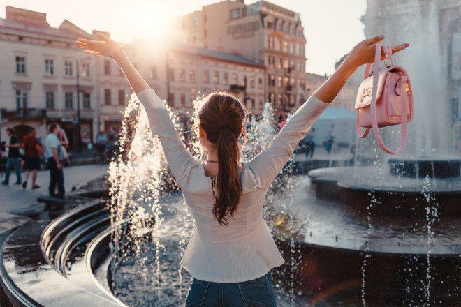 Voltei do intercâmbio com a missão cumprida.© Mariia Boiko | Dreamstime.com