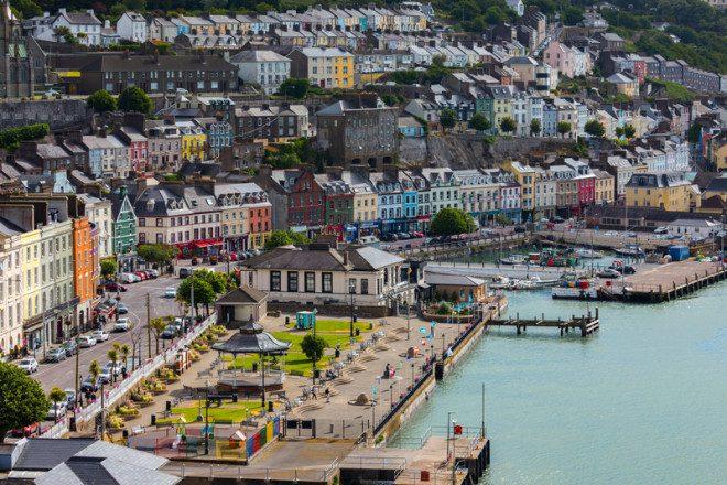 A cidade Cobh foi onde o Titanic fez sua última parada, antes de se afundar.© Darrin Aldridge | Dreamstime.com