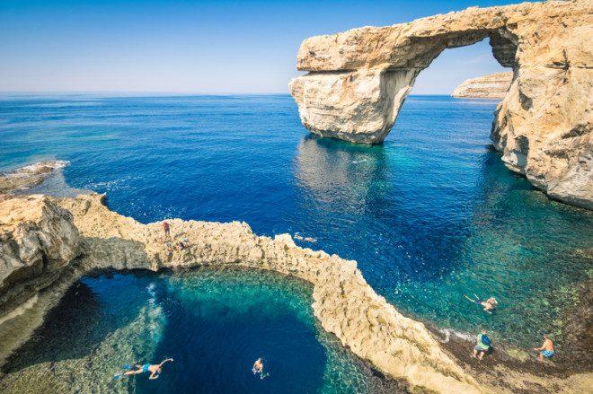Se esta procurando uma ilha paradisíaca, este lugar esta em Malta.© Mirko Vitali | Dreamstime.com