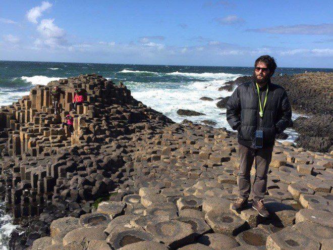 Gabriel mora em Dublin a quase 1 ano e pretende ficar mais tempo. Foto: Arquivo pessoal.