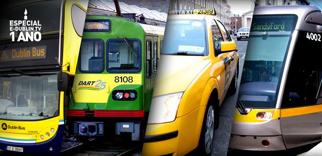 Retrospectiva E-Dublin TV – Transporte Público
