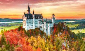 Neuschwanstein! O castelo da Cinderela