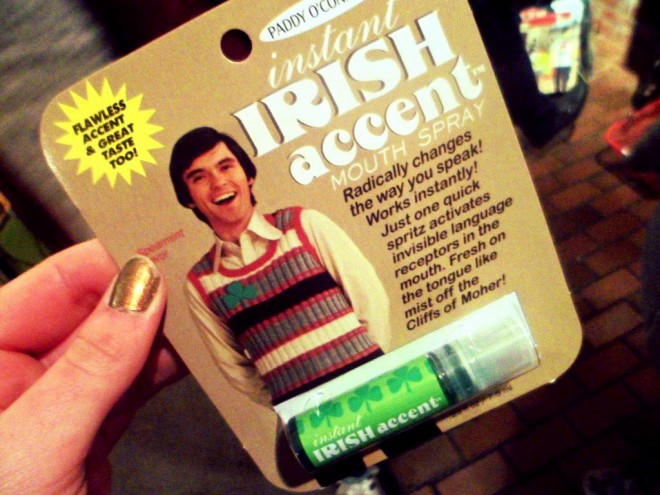 irish accent