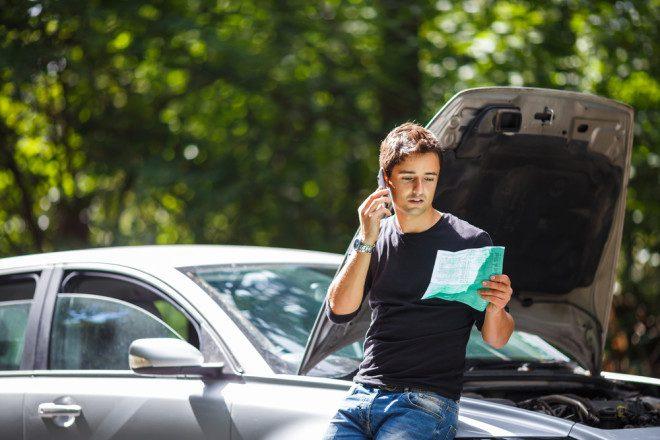 Seguro na Irlanda é obrigatório e cobre o condutor, não o carro. Fonte: Shutterstock