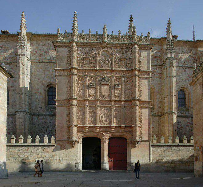Universidade de Salamanca é a mais antiga da Espanha Reprodução: Hola