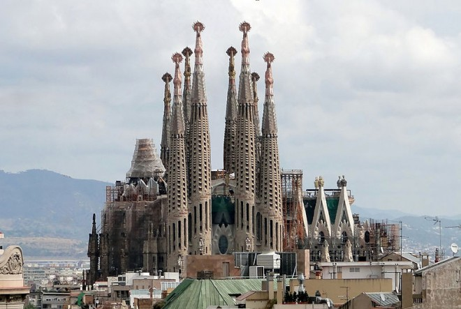 A Sagrada Familia - Foto Bernard Gagnon