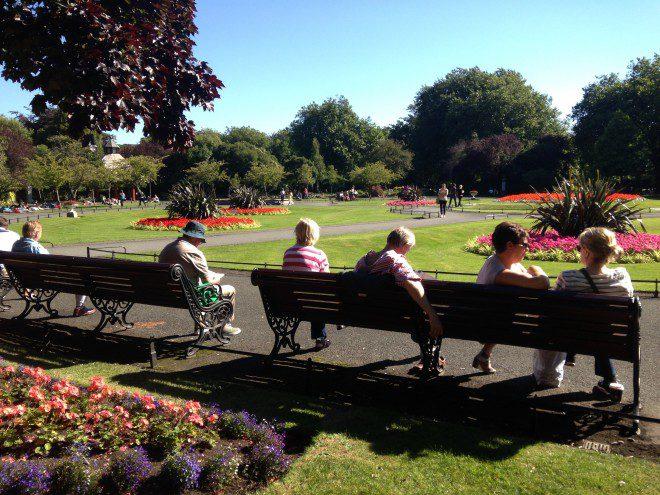 St. Stephens Green Park - Dublin