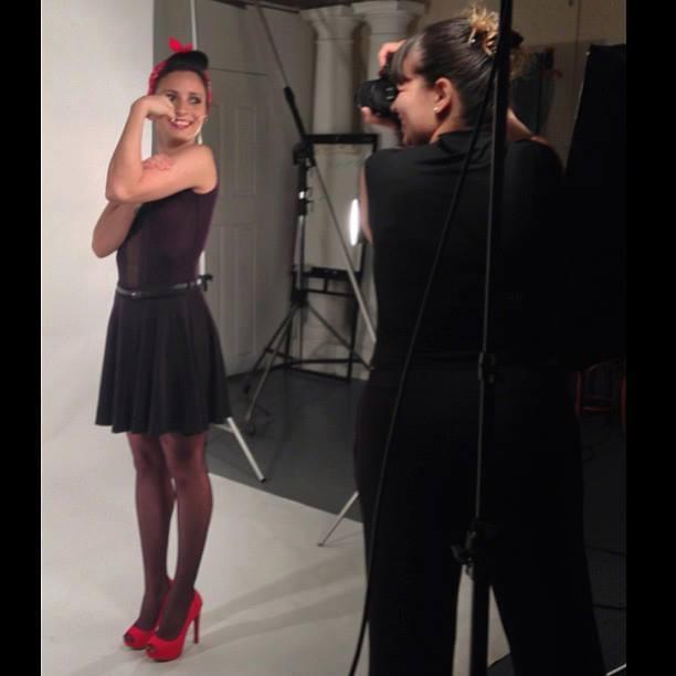 Camila está no segundo ano de fotografia da Griffith Foto: Camila Brandão