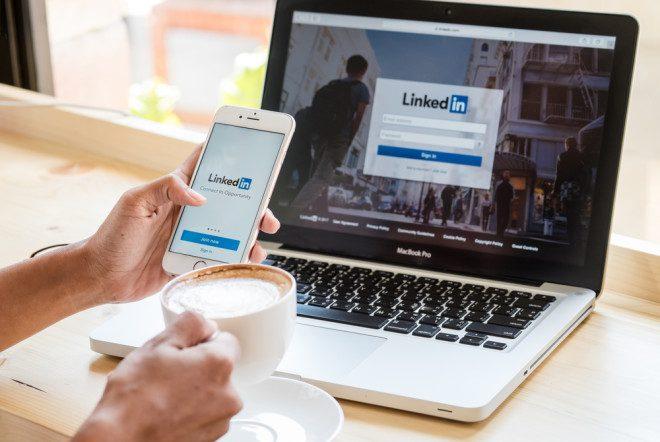 LinkedIn é uma rede voltada para mercado de trabalho. Foto: Shutterstock