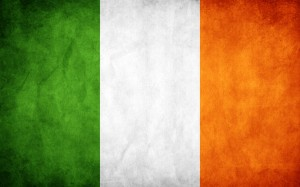 Por que a bandeira da Irlanda é laranja, branca e verde?