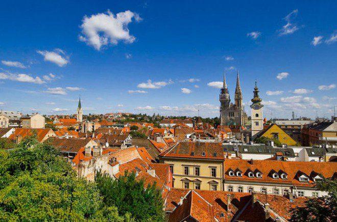 Zagreb, a Capital da Croácia. Fonte: adriaticstay.com
