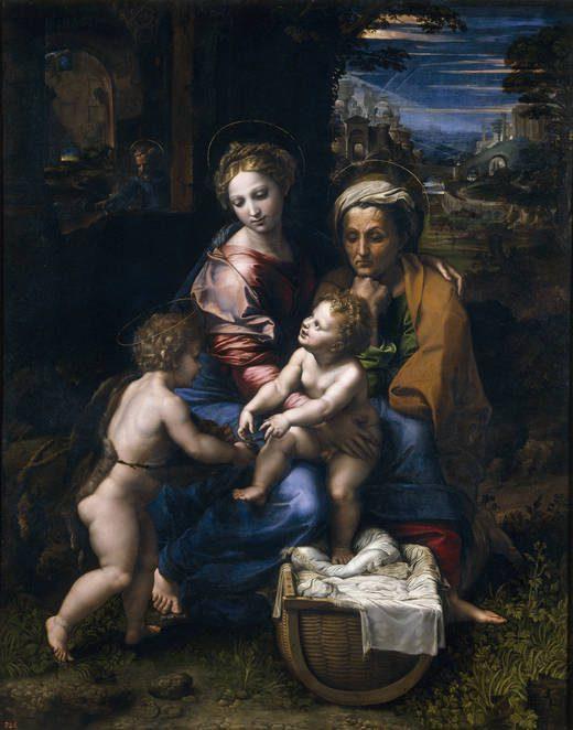 Sagrada Familia, também chamada de Perla. Pintura em exposição no Museu Nacional do Prado. Reprodução: museodelprado.es