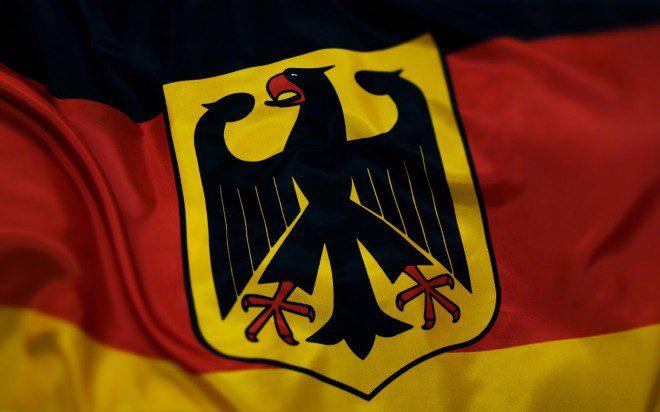 Águia é símbolo do brasão de armas alemão