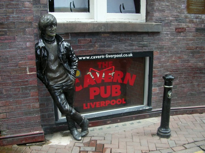 John Lennon Statue, by Mauro M. Google Maps Images.