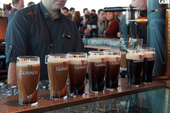 Toma uma Guinness diretamente na fonte é um programa que não pode faltar