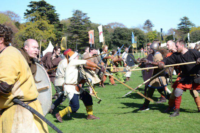 Festival Batalha de Clontarf. Créditos: Site clontarf.ie