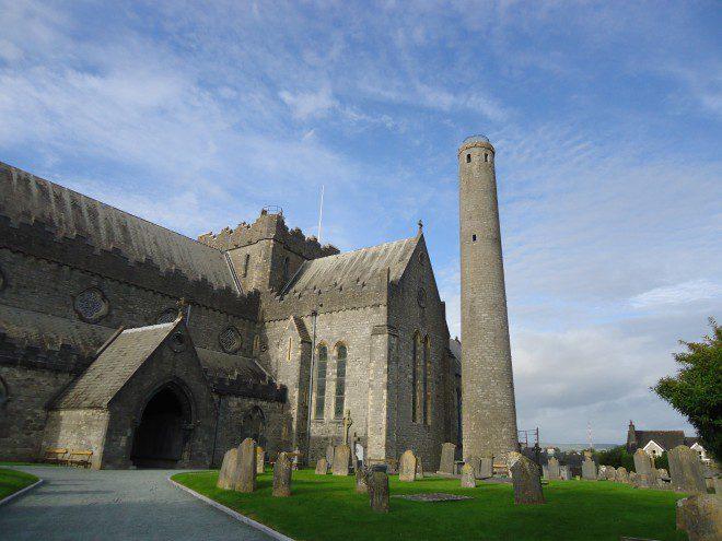 Torre em Kilkenny Foto: Elizabeth Gonçalves