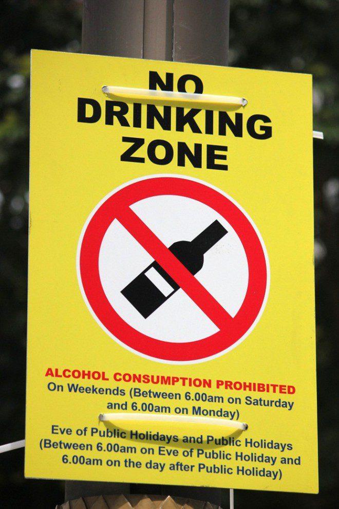 Na Little Índia, em Cingapura, bebidas alcóolicas são extritamente proibidas :(. Foto: Ávany França