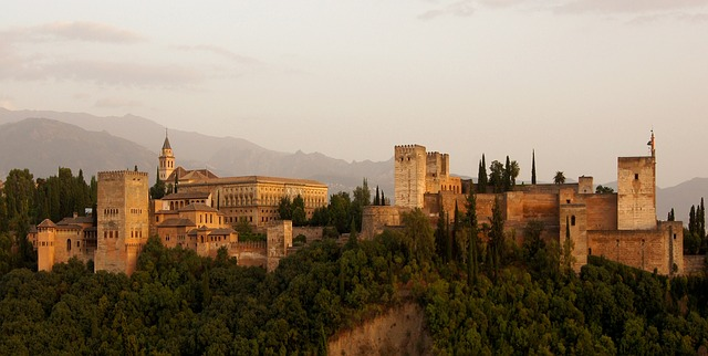 Alhambra. Créditos: Pixabay