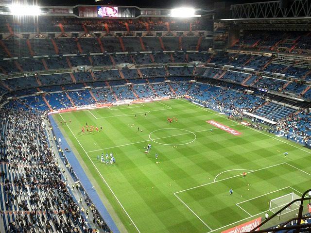 Estádio do Real Madrid, Santiago Bernabeu. Créditos: Pixabay