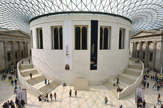 Museu Britânico. Créditos: Pixabay.