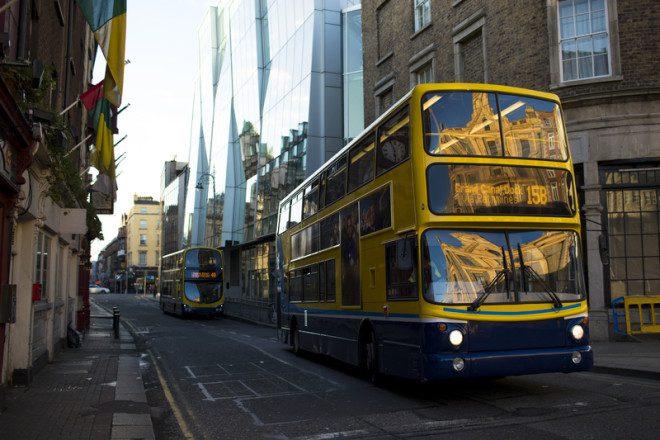 Tarifas do Dublin Bus sofrem reajuste. Foto: Juan Antonio Barros Moreno | Dreamstime