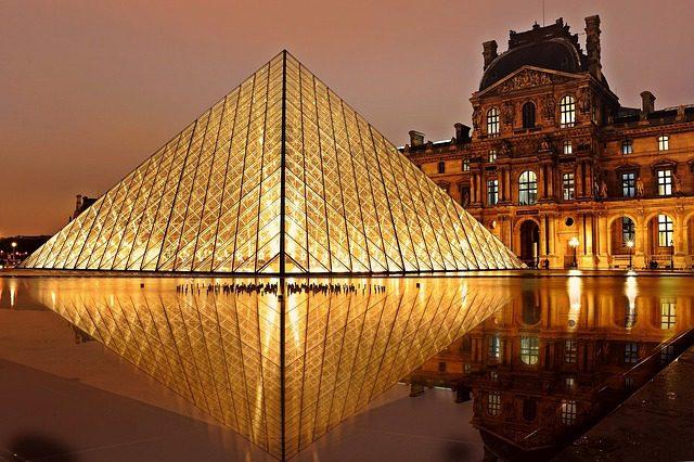 Museu do Louvre. Créditos: Pixabay.