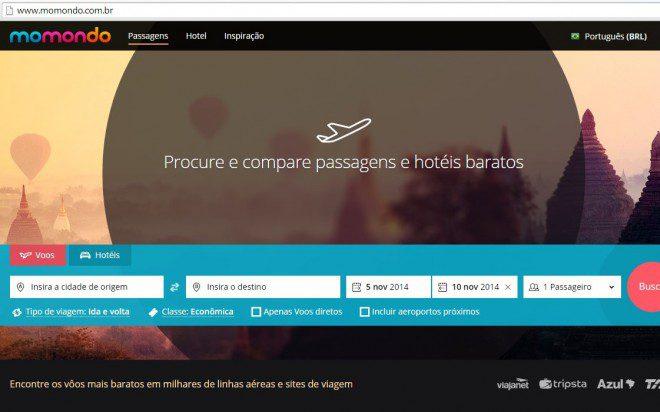 Momondo.com.br