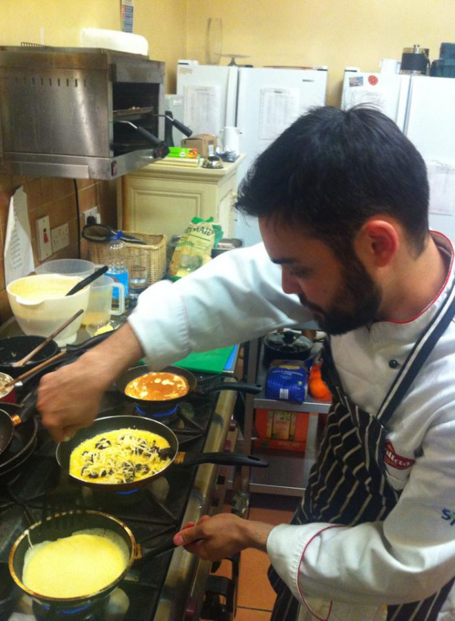 KItchen Porter pode ser o primeiro passo para a carreira de chef. Foto: ArquivoPessoal