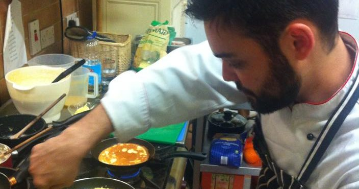 Como passei de Kitchen Porter a Chef