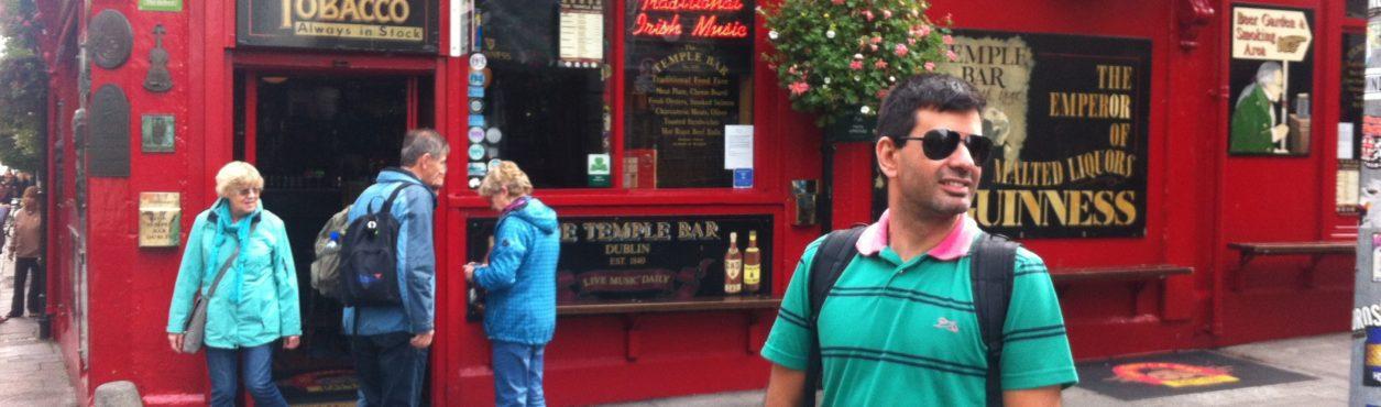 Minha primeira semana em Dublin