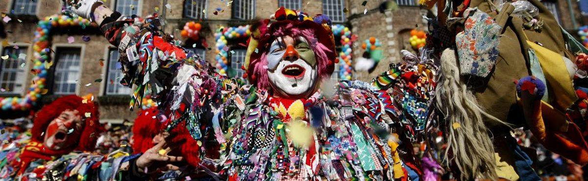 É tempo de carnaval em Colônia, Alemanha