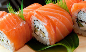 Roteiro do sushi em Dublin