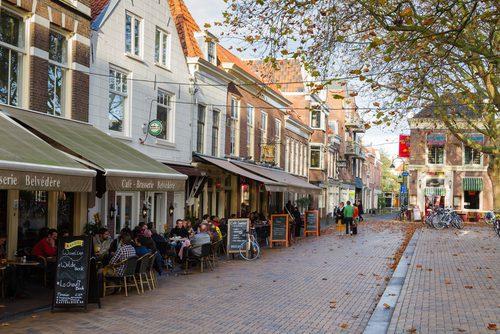 Cidade de Delf, na Holanda.Foto: Shutterstock