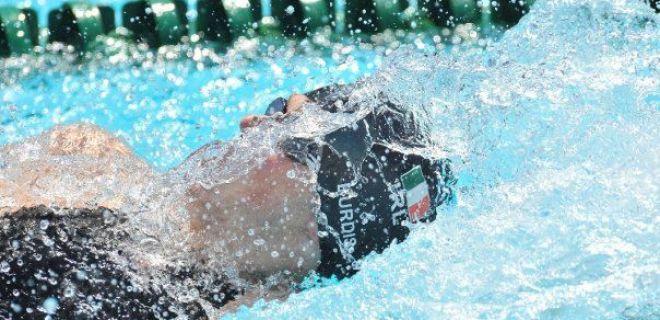 Entrevista com o nadador Irlandês Karl Burdis
