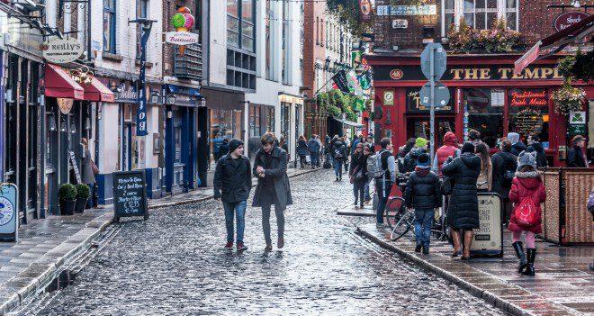 Dublin streets (temple bar)