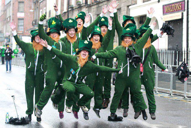St. Patrick's Day Reprodução: Metro/Peter Muhly