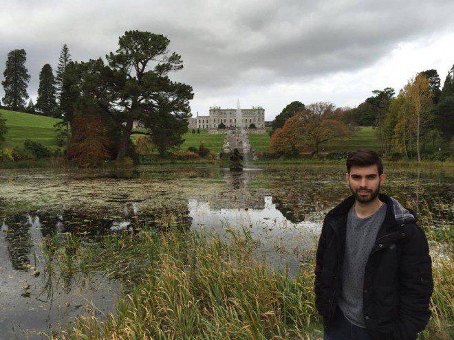 Rafael Lanzone Guerra, 25 anos, há dois anos em Dublin.